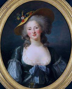 Madame Elizabeth of France by Elizabeth vigee le brun