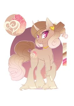 Valentines Day Pony Adopt: OPEN by TheNornOnTheGo.deviantart.com on @DeviantArt