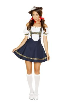 Mens German Bavarian Oktoberfest Ladies Beer Maid Fancy Dress Costume Lederhosen Reliable Performance Novelty & Special Use Women's Costumes