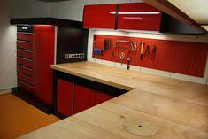 Barn Garage, Garage Tools, Man Cave Garage, Garage Shop, Garage House, Garage Workshop, Home Organization Hacks, Garage Organization, Garages