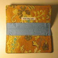 Checkbook Cover Tutorial - Liesl Made Easy Projects, Sewing Projects, Checkbook Cover, Crafty, Quilts, Purses, Bags, Totes, Craft Ideas