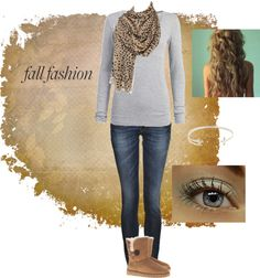 """Fall fashion"" by kegann15 on Polyvore"