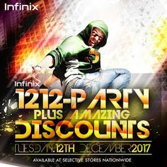 Infinix Mobility Announces The Infinix 1212 Party for Fans & Loyal Customers   Are you anInfinixfan or loyal customer?Infinix MobilityNigeria is excited to announce this years big celebration Infinix 1212 which is an annual event forInfinix fans. The Celebration was lit last year with over 500 student fans in attendance at the event in Lagos.  Date:Tuesday December 12th 2017. Venue:Lagos.  This yearsInfinix 1212 Partyis going to be much more bigger with the brands growing success in Nigeria…