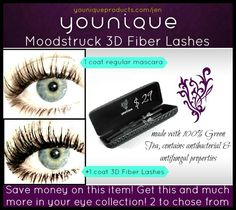 """""""HOLY LASHES!"""" is what the cashier at PetCo said to me, I grinned sheepishly...knowing what I was about to share with her....YOUNIQUE 3D #FIBERLASHES! Did she buy on the spot? Uh, YEA!!! Have thin and sparse lashes? $29 then get a pigment for a penny during May! www.youniqueproducts.com/jen"""