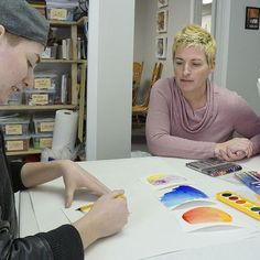 Mindful Art Center owner Kelly Darke hosts a workshop for transgender youth. What Is Art Therapy, Transgender Youth, Social Skills, Mindful, American Art, Workshop, Creative, Atelier, Work Shop Garage