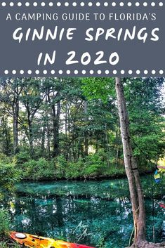 Ready to spend the summer tubing in Florida? Check out these camping hacks for a fun weekend in the water at Ginnie Springs!   #Camping #Florida #Ginnie #Hacks