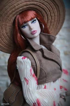 Peace of My Heart Poppy Parker Fashion Royalty Dolls, Fashion Dolls, Barbie Clothes, Barbie Dolls, Realistic Barbie, Poppy Doll, Barbie Images, Real Doll, Valley Of The Dolls