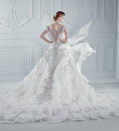 Wedding Dress by Micheal Cinco
