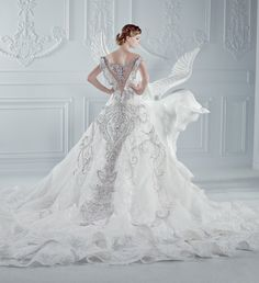 Wedding Dress by Micheal Cinco