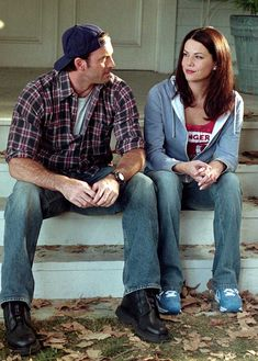 "Luke and Lorelai, ""Gilmore Girls""- You can find Gilmore girls and more on our website.Luke and Lorelai, ""Gilmore Girls""- Scott Patterson, Luke And Lorelai, Lorelai Gilmore, My Fair Lady, Ginger Rogers, Fred Astaire, Dirty Dancing, Mamma Mia, Best Tv Couples"