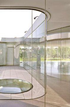 Glass Pavilion - Toledo Museum of Art by Kazuyo Sejima (SANAA) 22m