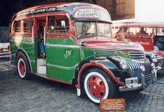 Primeros Colectivos desp de (ex Taxis) ya con color por Linea Argentina