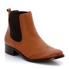 Boots cuir glacé SOFT GREY