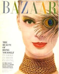 Cover of Harper's Bazaar, October 1959, photo by Richard Avedon.