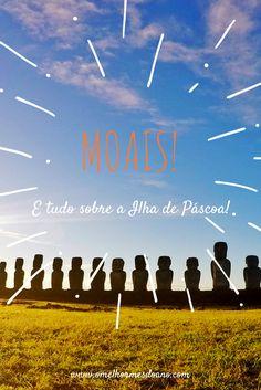 A Ilha de Páscoa, que fica na Polinésia, mas pertence ao Chile, é muito mais do que os moais, as estátuas de pedra que são símbolo da Ilha. Nos seus poucos kilômetros quadrados, se pode visitar lagos dentro de crateras de vulcões, praias com areia rosa e paisagens inesquecíveis.