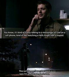 Hahahah :) - supernatural
