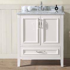 Aquatrend Designer Bathroom Vanity Unit Main Image