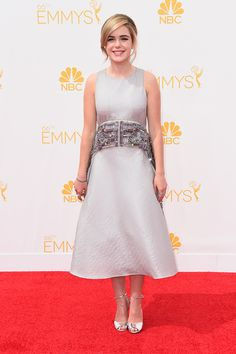 Kiernan Shipka is seriously one of the most stylish teenagers ever, and this Antonio Berardi gown is no exception.