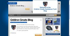 Gridiron Greats Assistance Fund Blog