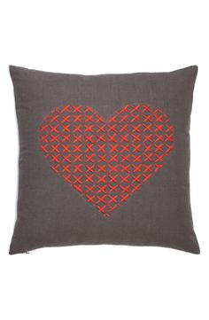 Nordstrom at Home 'Cross My Heart' Pillow
