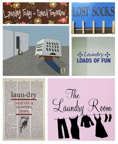 cute sayings for the laundry room;