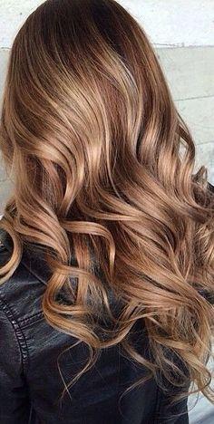Balayage wavy hair #gorgeoushair