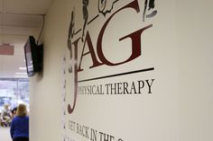JAG PT Cedar Knolls Wall Logo
