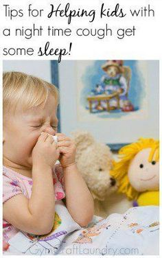 How to help your child kick that night time cough via @herchel1