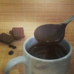 Nosso novo sabor Brigadeiro de café!!!! Hummm... combinação perfeita para brownies, bolos e cupcakes.  #tomazcake #brigadeirodecafe #brigadeirodecafé #festas #bolodecorado #cupcakedecorado