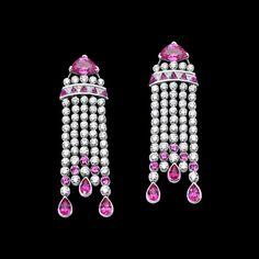 White gold Diamond Earrings G38L7800 - Piaget Luxury Jewelry Online