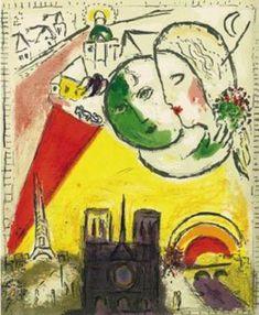 Marc Chagall: Le Dimanche