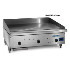 """Imperial - ISCE-48 - 48"""" Snap Action Gas Griddle w/ Solid St 