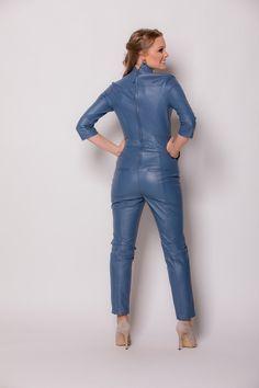 Sexy Outfits, Fashion Outfits, Womens Fashion, Leather Dresses, Leather Outfits, Leather Jumpsuit, Jumpsuit Dress, Leather Fashion, Overall Shorts