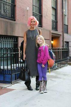 <3 that pink hair!