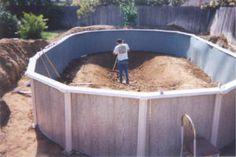 die besten 25 pool installation cost ideen auf pinterest ein schwimmbad bauen schwimmbad. Black Bedroom Furniture Sets. Home Design Ideas