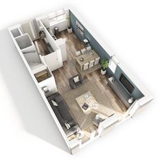 plattegrond Living Room Floor Plans, Open Plan Kitchen Living Room, Living Room Modern, House Floor Plans, Home Living Room, Small Open Plan Kitchens, Basement Layout, Lets Stay Home, Living Room Furniture Layout