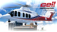 """The Bell 525 Relentless defines the new """"super medium"""" product class - positioned at the upper end of the medium class and designed to offer best-in-class capabilities to their customers. It features superior payload and range, cabin and cargo volumes and crew visibility."""