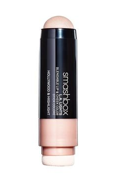 Prefer a cream formula? This Smashbox highlighter is the easiest option. Simply draw anywhere you want to apply shimmer (like the tops of cheekbones) with one side, then buff into skin with the built-in sponge.