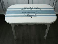 Перекраска старой мебели, переделка мебели, столик, деревянный стол, декупаж, шебби-шик