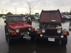 Brotherly love #jeep #jeeplife #Wrangler #jeeps #Cherokee #JeepMafia #offroad #4x4