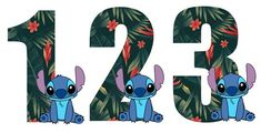 Festa tema Lilo e Stitch Disney Stitch, Lilo En Stitch, Toy Story Invitations, Baby Mickey Mouse, Luau Birthday, Disney Home Decor, Birthday Numbers, Baby Party, Party Themes