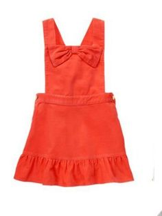 NEW NWT Gymboree FAIRY TALE FOREST orange cord jumper dress baby girl  6-12m #Gymboreeretail #Everyday