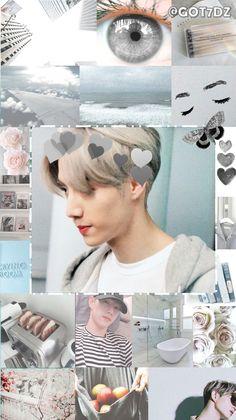 Photos and wallpapers KpOp. Yugyeom, Youngjae, Got7 Wallpaper, Iphone Wallpaper, Jinyoung, Go7 Mark, Got7 Aesthetic, Got7 Mark Tuan, I Got 7