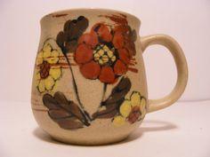 Beautiful Floral mug Made in Korea by ScribbleFitz on Etsy, $10.00