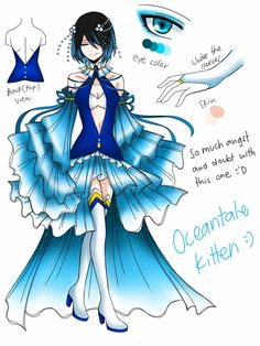 Character Unlocked: Oceantale Kitten by CNeko-chan.deviantart.com on @DeviantArt