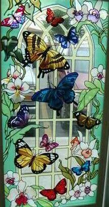 Butterfly window.