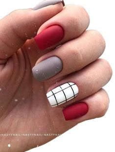 Best Natural Short Nails Design for Fall - - Short Square Nails . - Best Natural Short Nails Design for Fall – – Short Square Nail Design; Square Nail Designs, Short Nail Designs, Nice Nail Designs, Designs For Nails, Striped Nail Designs, Popular Nail Designs, Best Acrylic Nails, Acrylic Nail Designs, Best Nails
