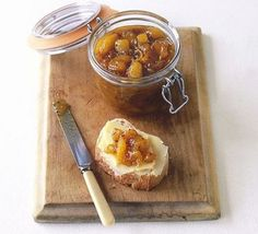 Fancy making your own chutney? Perfect to accompany a cheeseboard or to make as a gift, the Good Food cookery team show you how to make delicious chutney. Uk Recipes, Bbc Good Food Recipes, Cooking Recipes, Yummy Food, Amazing Recipes, Sauce Recipes, Recipies, Boxing Day, Apple Chutney