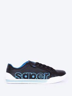 Tenisi pentru barbati Saper II – negru Air Max Sneakers, Sneakers Nike, Nike Air Max, Barbie, Adidas, Shoes, Design, Fashion, Tennis