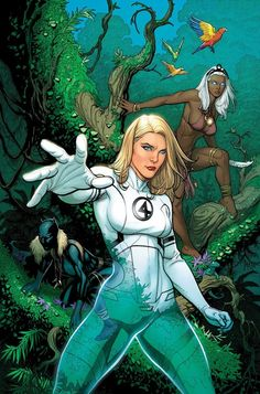 Fantastic Four #608 cover by Frank Cho.